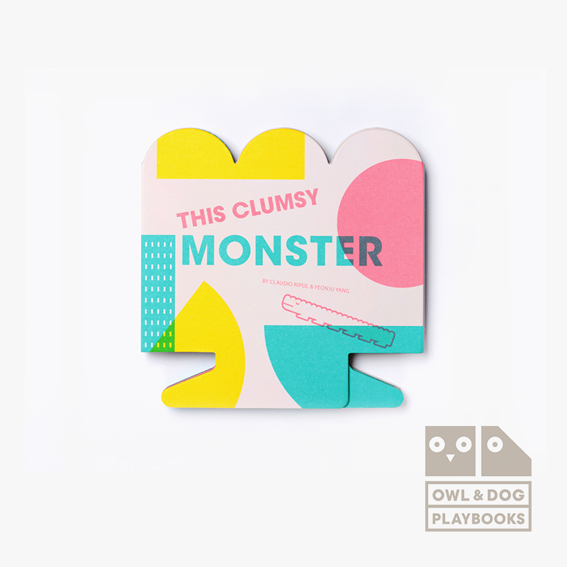 英國Owl & Dog多功能玩具書 - This Clumsy Monster