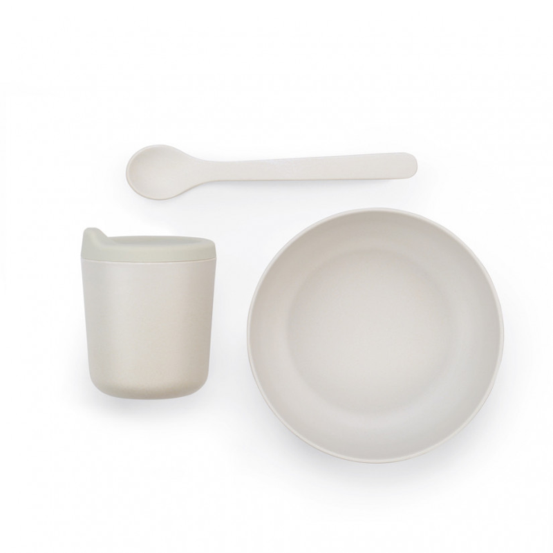 EKOBO - Baby Feeding Set gray