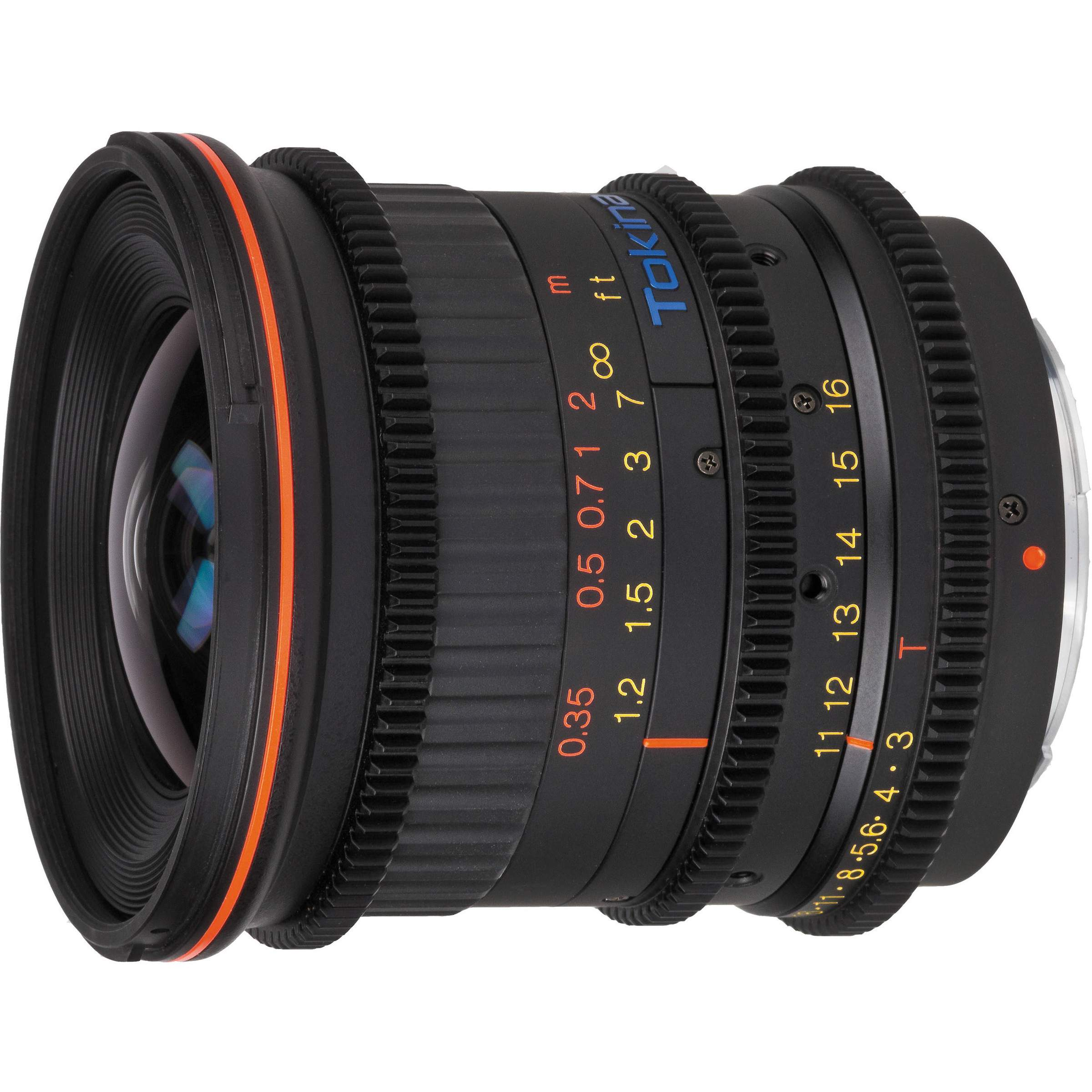 Tokina ATX 11-16mm T3 for Canon