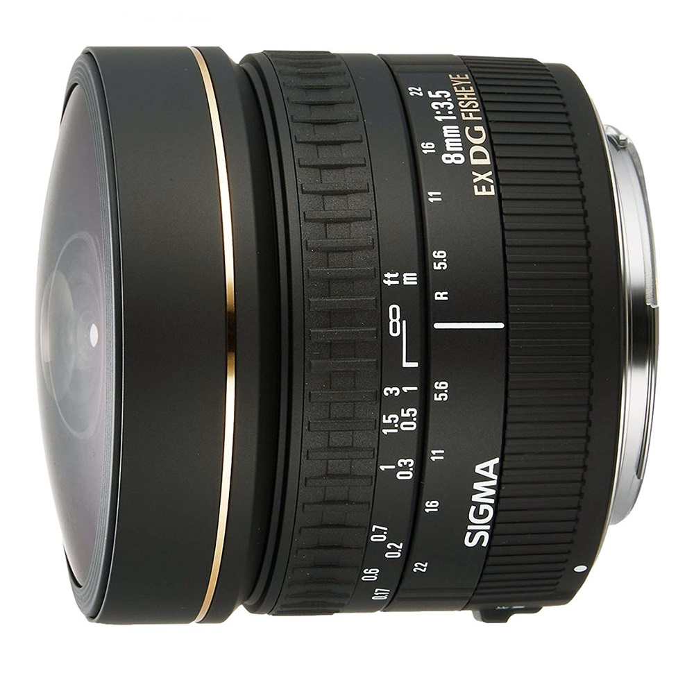 Sigma 8mm f3.5 EX DG for Canon (fisheye)