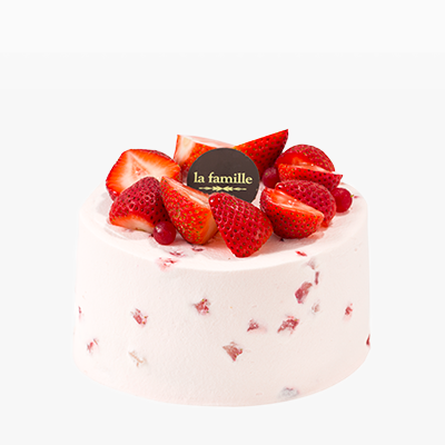 La Famille Strawberry Chiffon Cake皇牌士多啤梨